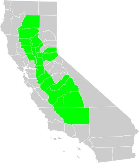 california map clip california central valley county map clip at clker