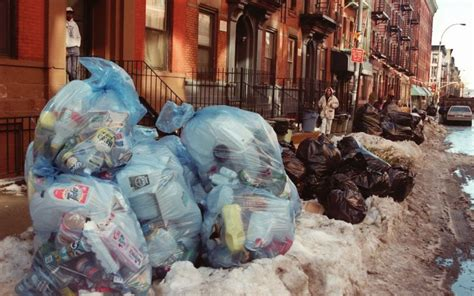 The City Digs Through Nyc Trash by Nyc Produces As Much Garbage As Any Other City On Earth