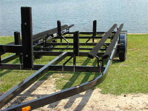 24 foot pontoon trailer 22 24 ft pontoon boat trailers 1995 00 all sizes