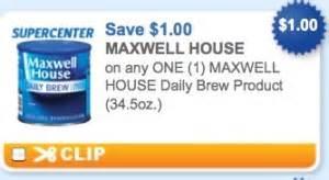 printable coupon for maxwell house coffee