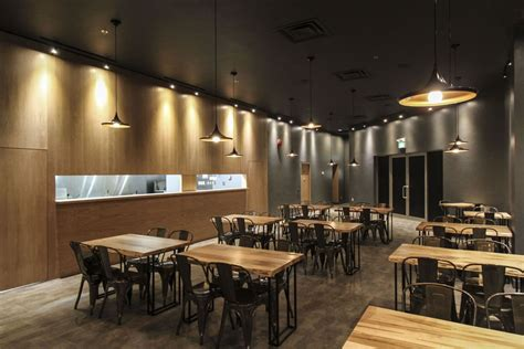 cafe interior design low budget le japanese modern cuisine by atelier sun retailand