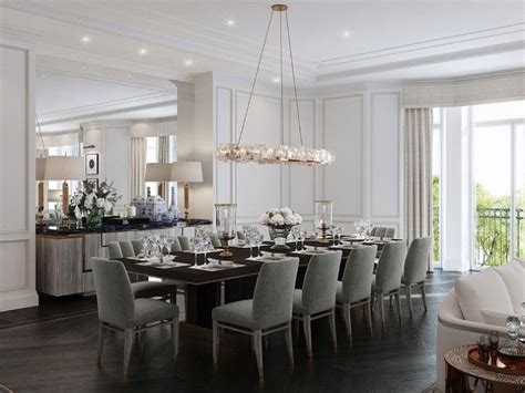 contemporary mirrors for dining room layout with modern luxury dining room interior design id441 modern luxury