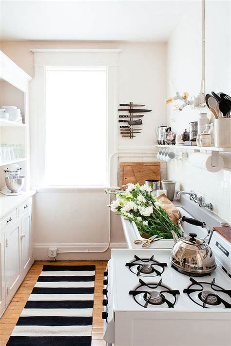 black and white striped home decor black and white kitchen with striped runner tips home decor