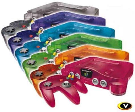 nintendo 64 colors nintendo 64 transparent console colors employee teaching