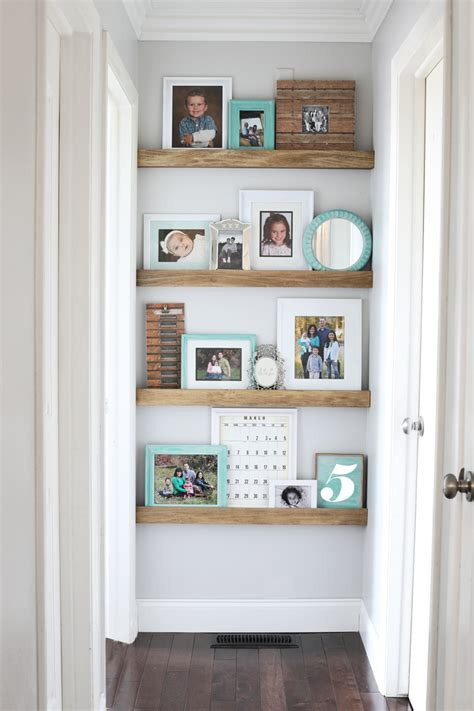 picture ledge diy floating shelves thecraftpatchblog