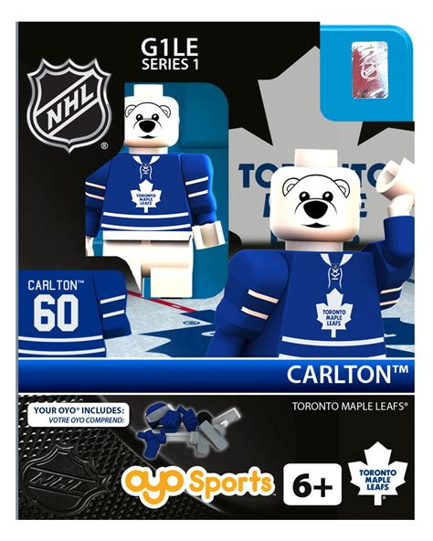 toronto maple leafs carlton the nhl hockey minifigures carlton toronto maple leafs
