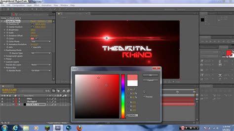 cara membuat intro opening video cara membuat opening atau professional intro di after