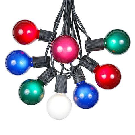 Shop Multi Colored Outdoor String Lights Globe Lights Novelty Lights