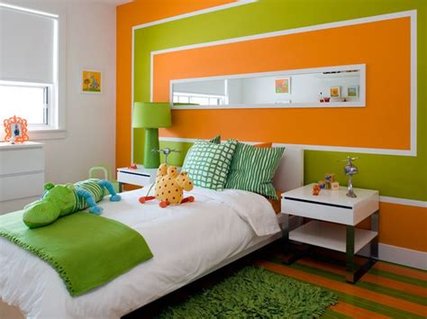 orange and green bedroom best 25 green and orange ideas on pinterest orange room