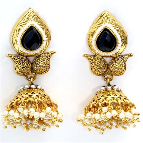 design earrings online 5 jhumka styles to glam up your wedding day look india s