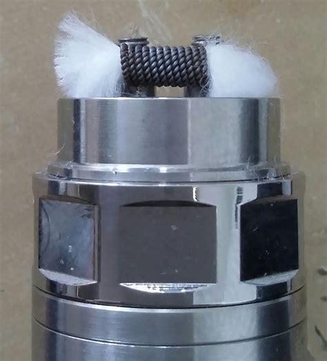 Coil Build Melo 3 Mini 05ohm 5 ohm single coil build