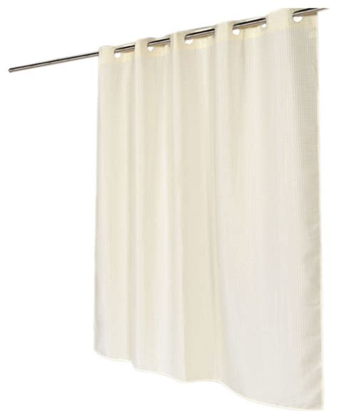 brown waffle weave shower curtain american crafts ez on waffle weave polyester shower