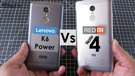 Baterai Xiomi Redmi 4i Power redmi note 4 vs lenovo k6 power battery gaming design