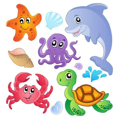 imagenes infantiles animales pack animales del mar pegatinas pared infantiles