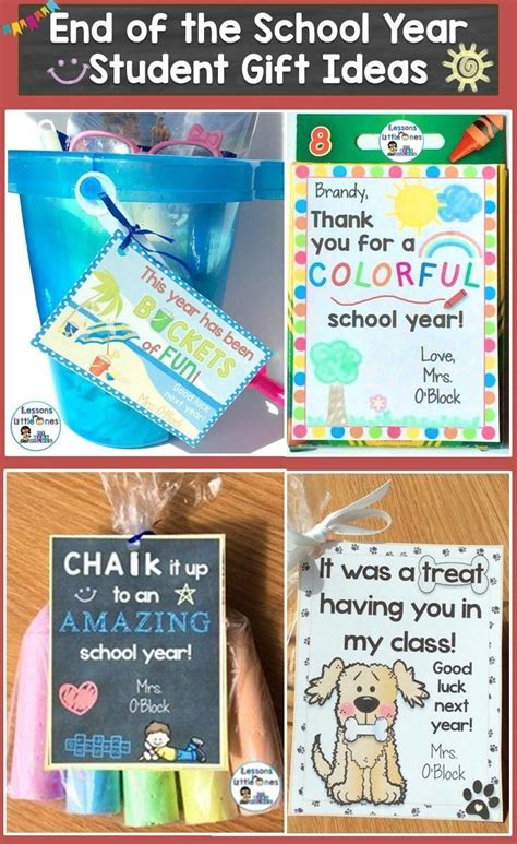 fun gifts for students during student teaching 77 best end of the school year images on