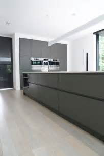 Modern Grey Kitchen Cabinets Contemporary Home Design Modern Kitchen Sink With Gray Color Ultra Minimalist Home In Black