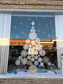 25 best ideas about christmas window display on pinterest
