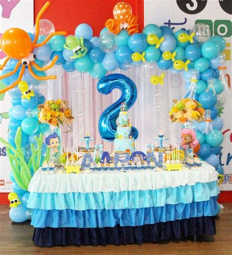 2nd birthday decorations at home 25 best ideas about bubble guppies party on pinterest
