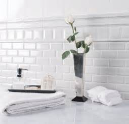 black and white subway tile bathroom with unlimited