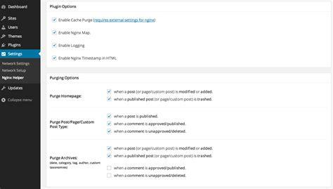 wordpress nginx tutorial nginx helper wordpress plugins