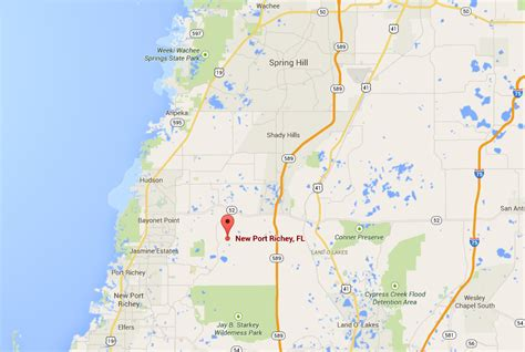 where is new port richey florida on florida map vacant residential land for sale in new port richey