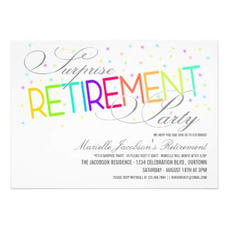 word templates for retirement invitations retirement party invitation template ms word minimalist