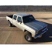 1981 Chevrolet Crewcab Shortbed Ls Swap For Sale Photos