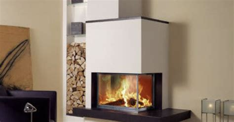 les radiantes camini cheminee moderne angle