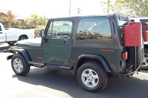 auto air conditioning repair 2008 jeep wrangler seat position control purchase used 1993 jeep wrangler sahara winch hardtop air conditioning tow bar in las