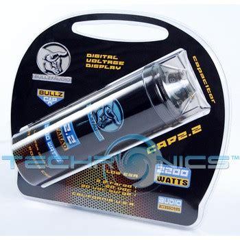 bullz audio 2 2 farad capacitor bullz audio bcap2 2 2 farad digital capacitor