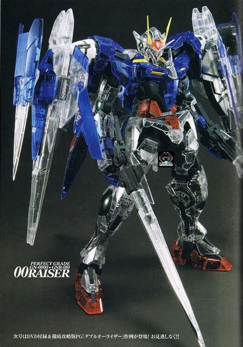 Pg 00 Raiser Gundam Bandai bandai pg 00 raiser color clear