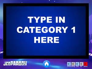 jeopardy powerpoint game template youth downloadsyouth