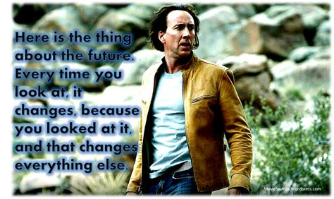 movie next nicolas cage quotes nicolas cage quotes movie sayings