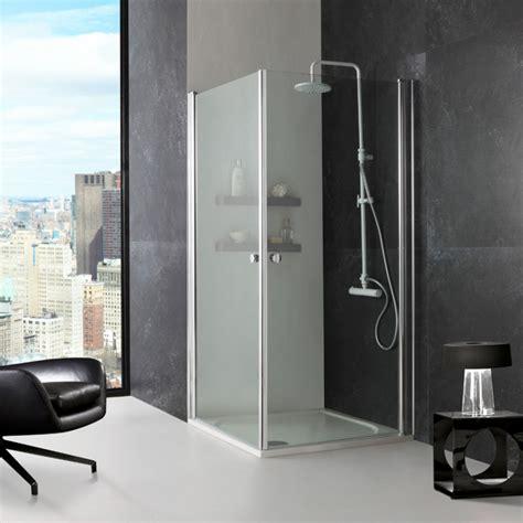 cabina doccia a pavimento cabina doccia cristallo trasparente con 2 ante di 70 cm
