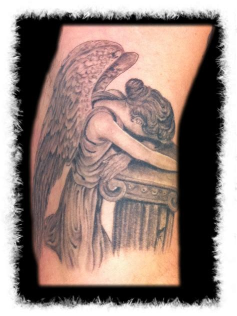 weeping angel tattoo big planet community forum tat 2 ing by carl s