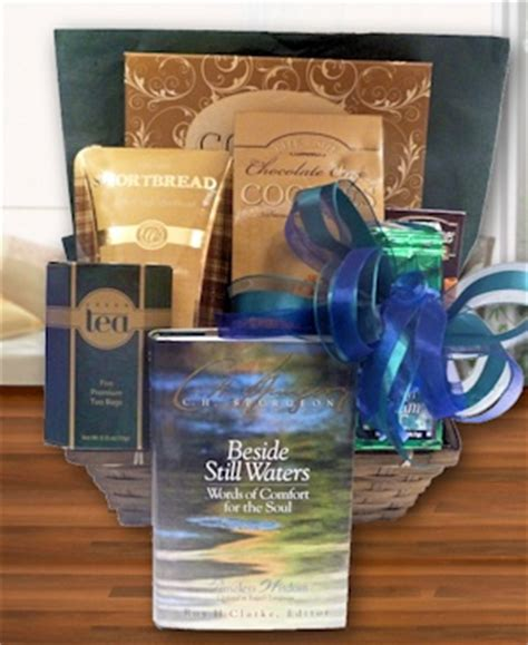 comforting gift ideas words of comfort sympathy gift basket gift baskets