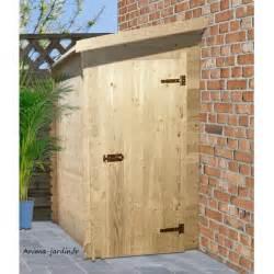 abri bois range v 233 lo adossable 19 mm jardin madeira