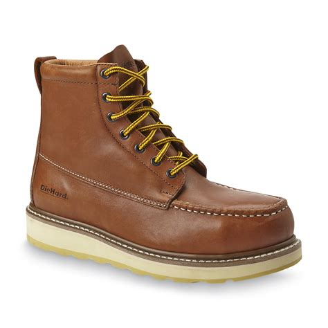 die hard on a boat diehard men s suretrack 6 quot leather soft toe work boot brown
