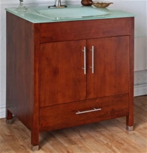 33 Inch Bathroom Vanity Cabinet by 33 Inchsingle Sink Bathroom Vanity With A Medium Walnut