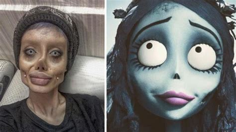 film zombie remaja remaja iran ini rela operasi 50 kali demi mirip angelina