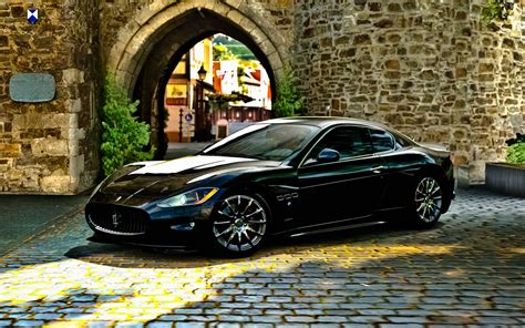 maserati sedan black maserati gran turismo black car picture hd car wallpapers