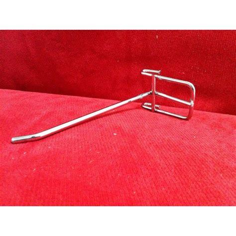 Ram Gantungan gantungan aksesoris hook ram krom 10cm perlengkapan toko grosir barang
