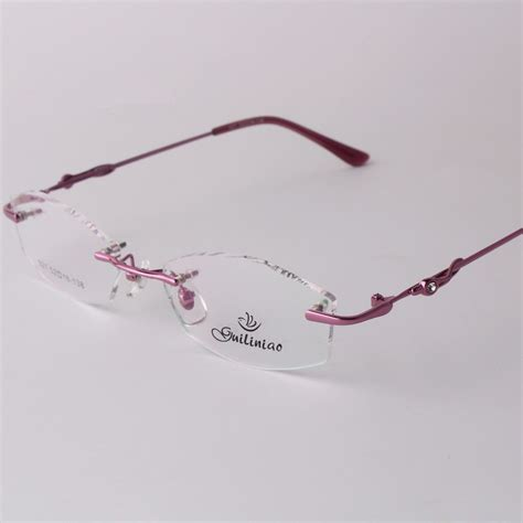 Kacamata Mont Blanc Leopard frameless glasses promotion shopping for