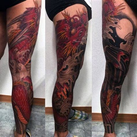 full leg tattoos for men 30 leg designs for masculine ink ideas