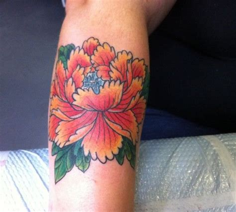 foolish pride tattoo peony by billy decola for the home