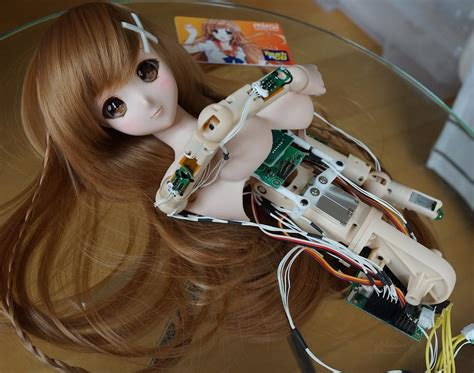 design doll android culture japan is using 3d printing to develop a four foot