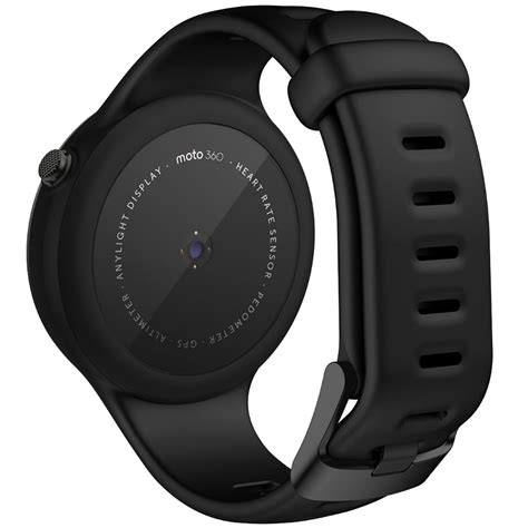 Smartwatch Moto 360 smartwatch motorola moto 360 sport black world comm the phone warehouse