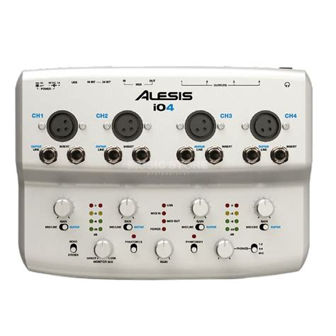alesis io4 review alesis io4 usb audio interface