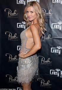 Chandelier Silver Earrings Joanna Krupa Takes A Gamble As She Turns Vegas Showgirl In