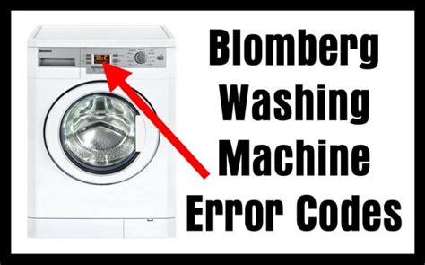 reset samsung washing machine blomberg washing machine error codes us3